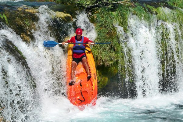 Kayaking, Cetina River, Croatia