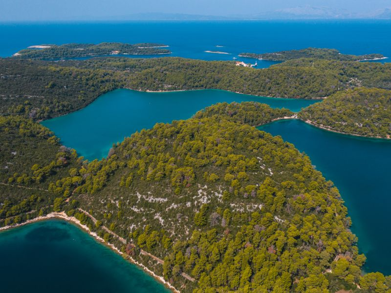 National Park Mljet , Croatia