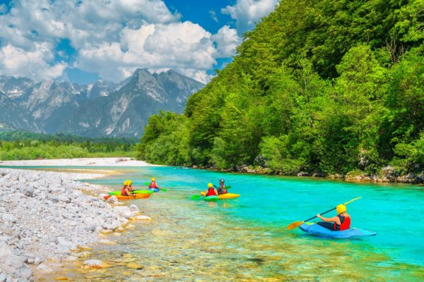 Soca River Kayaking