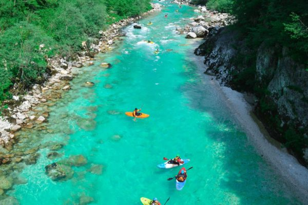 Soca River Soft Adventure, Slovenia