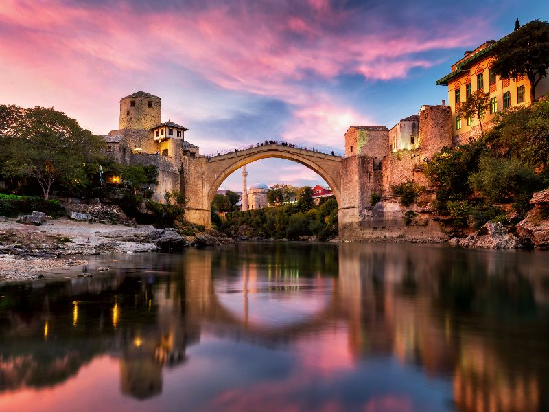 Day trips to Mostar.