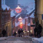 Zagreb in winter
